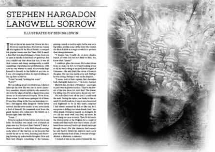 Langwell Sorrow Stephen Hargadon